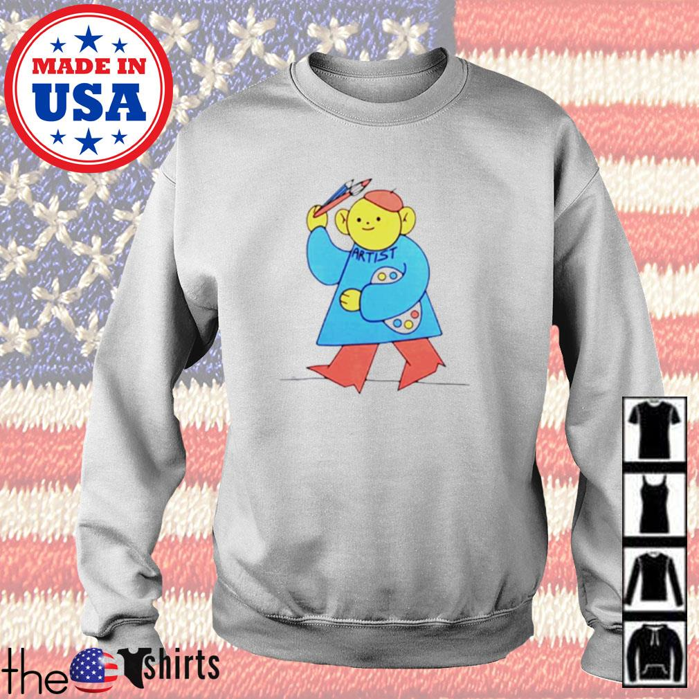 I am artist bear Sweater