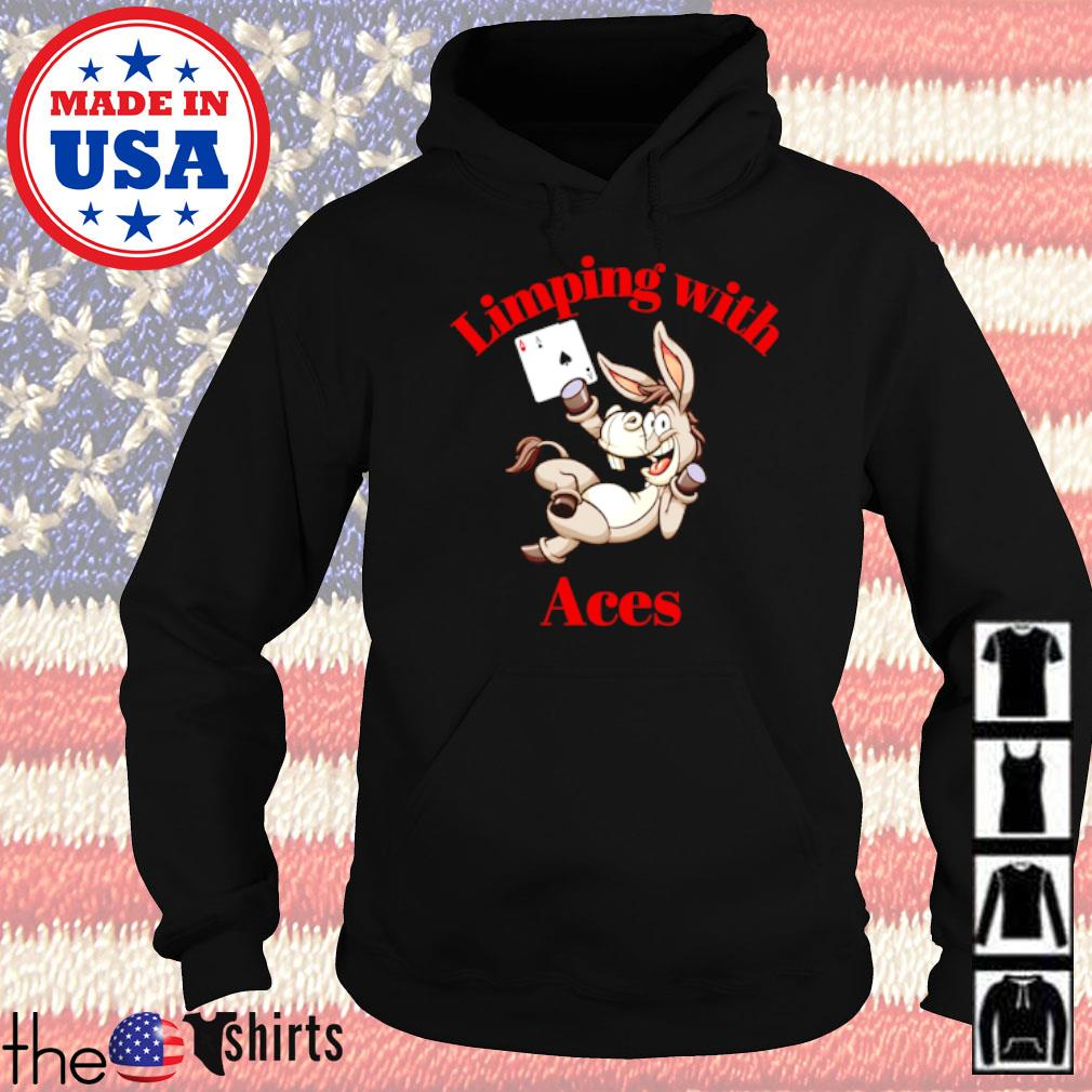 Limping with Aces Casino Poker Hoodie