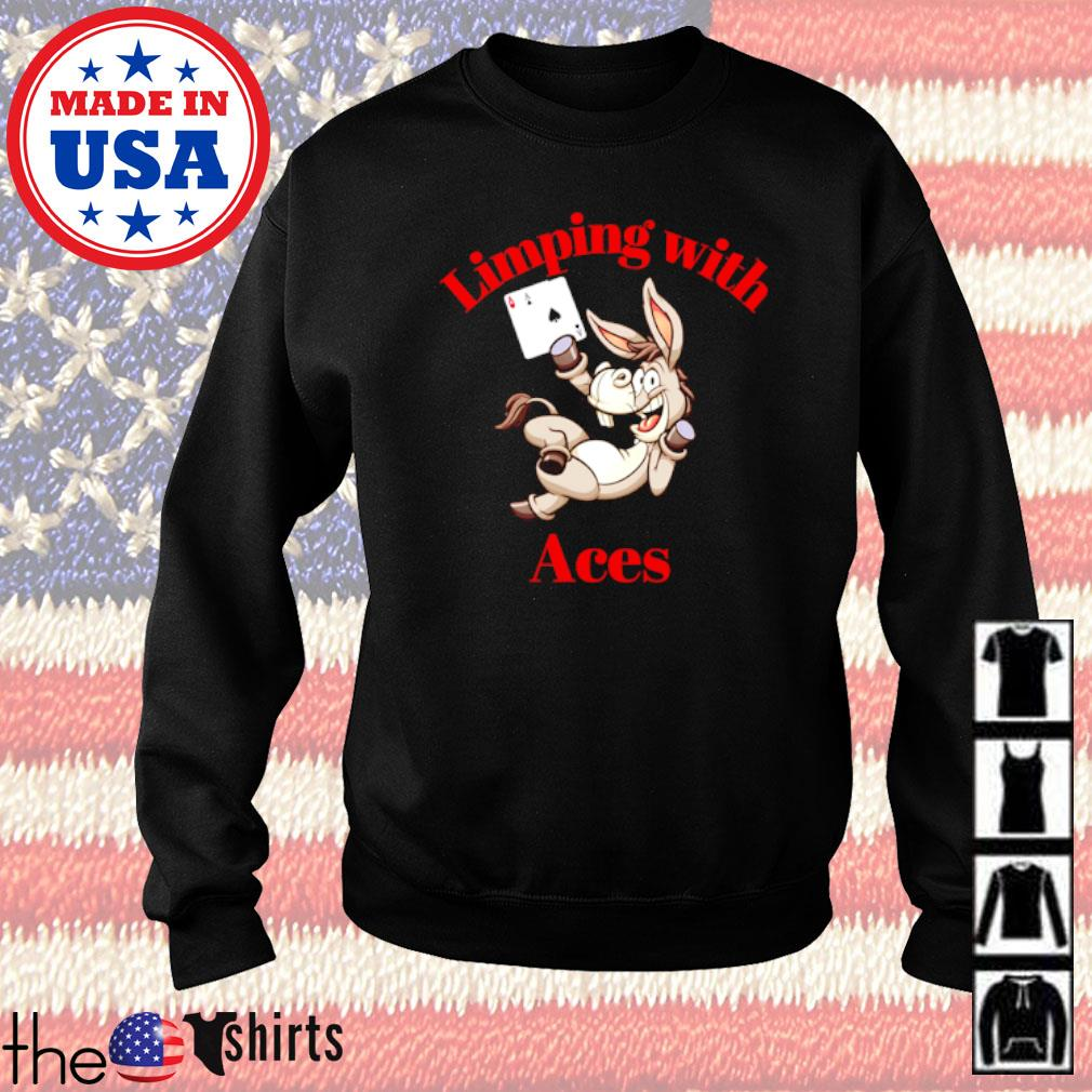 Limping with Aces Casino Poker Sweater