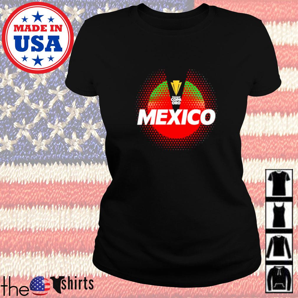 Mexico National Team 2021 Concacaf Gold Cup Ladies tee