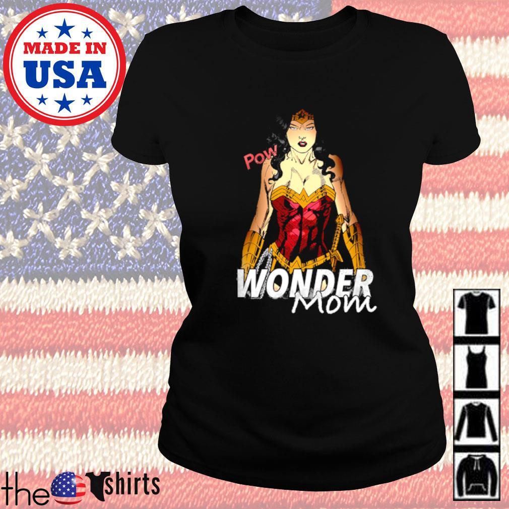 Pow Wonder mom Ladies tee