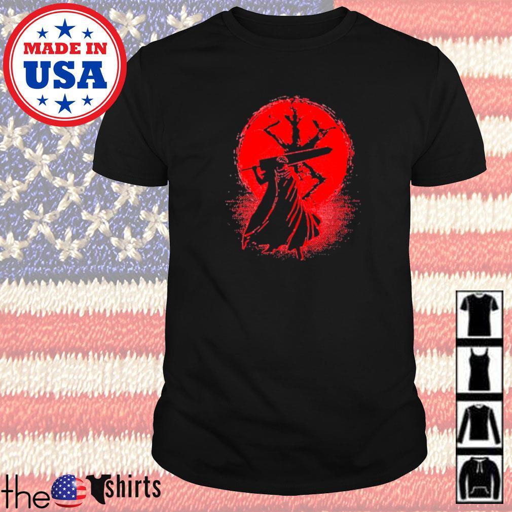 Samurai Japan blood moon shirt