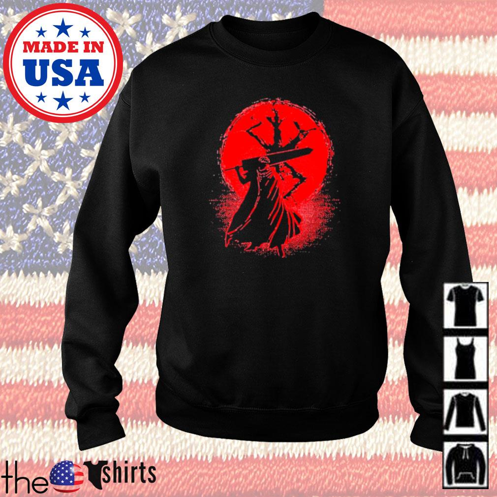 Samurai Japan blood moon Sweater