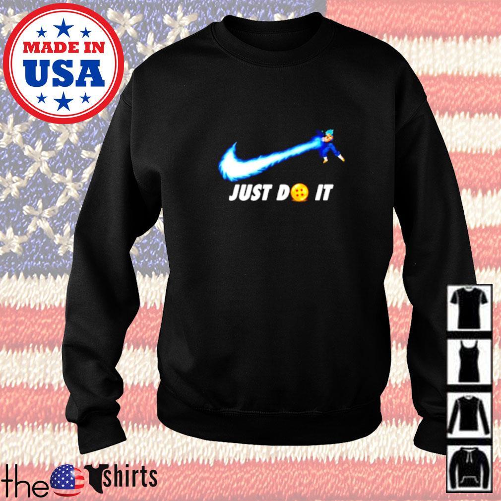 Songoku Kamehameha Nike just do it Sweater