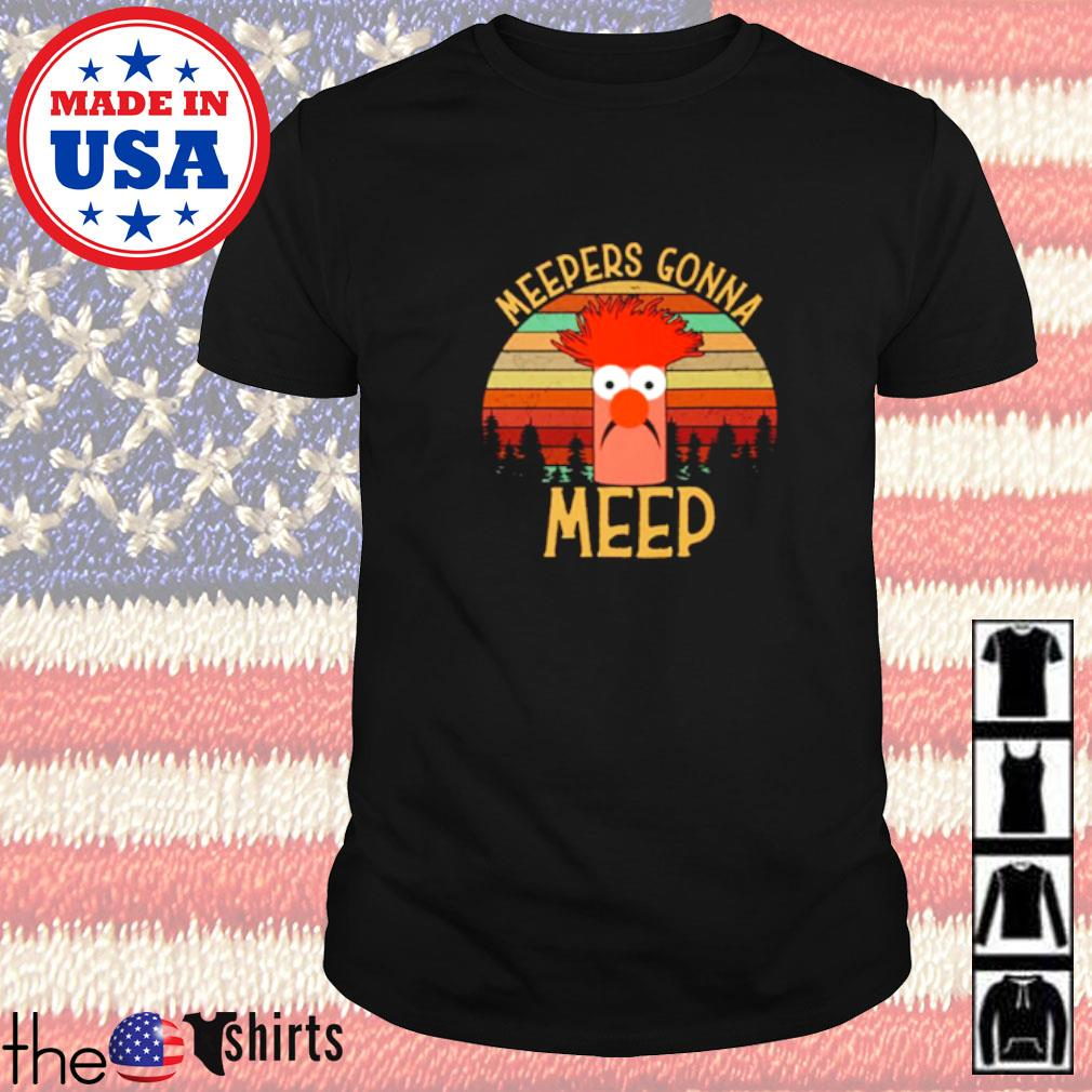 The muppet show meepers gonna meep vintage shirt