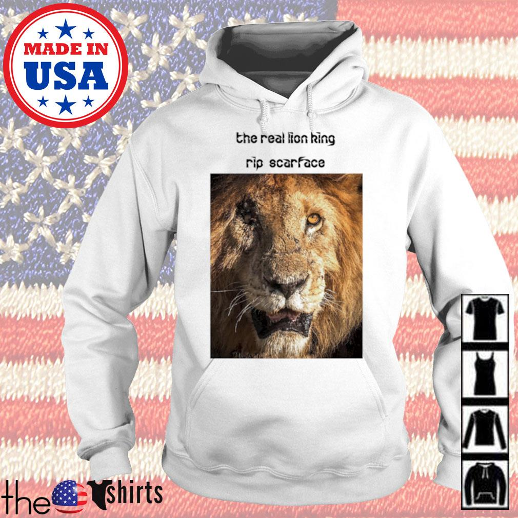 The real Lion King rip scarface Hoodie