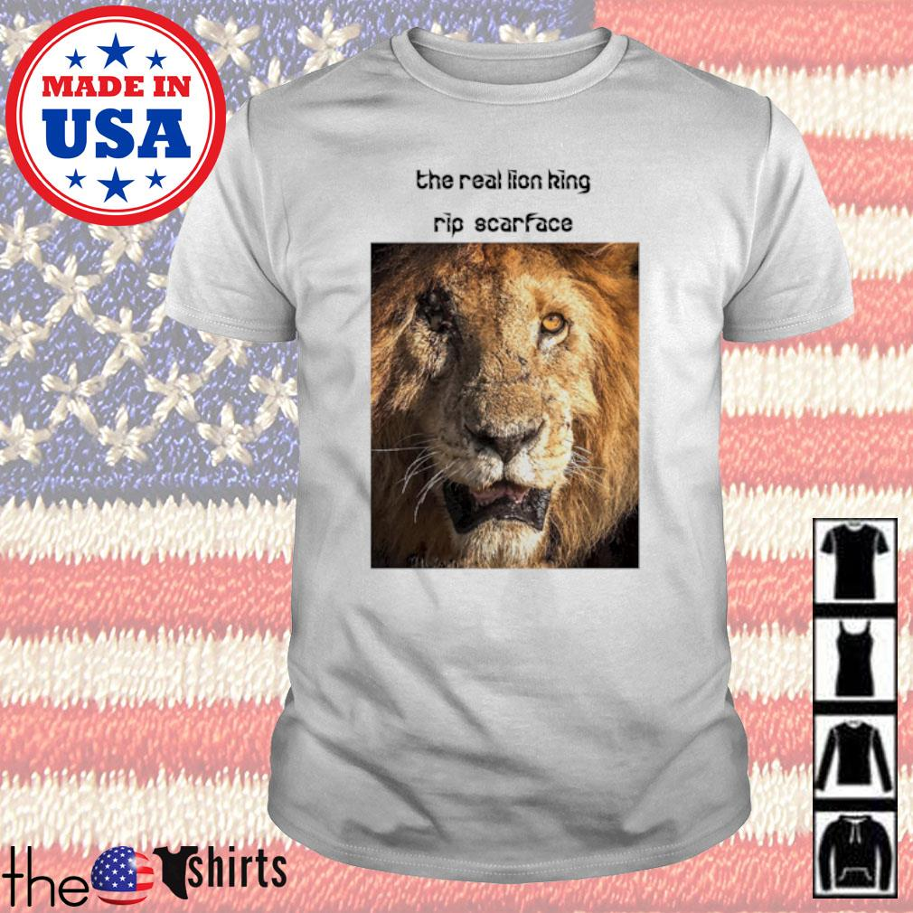The real Lion King rip scarface shirt