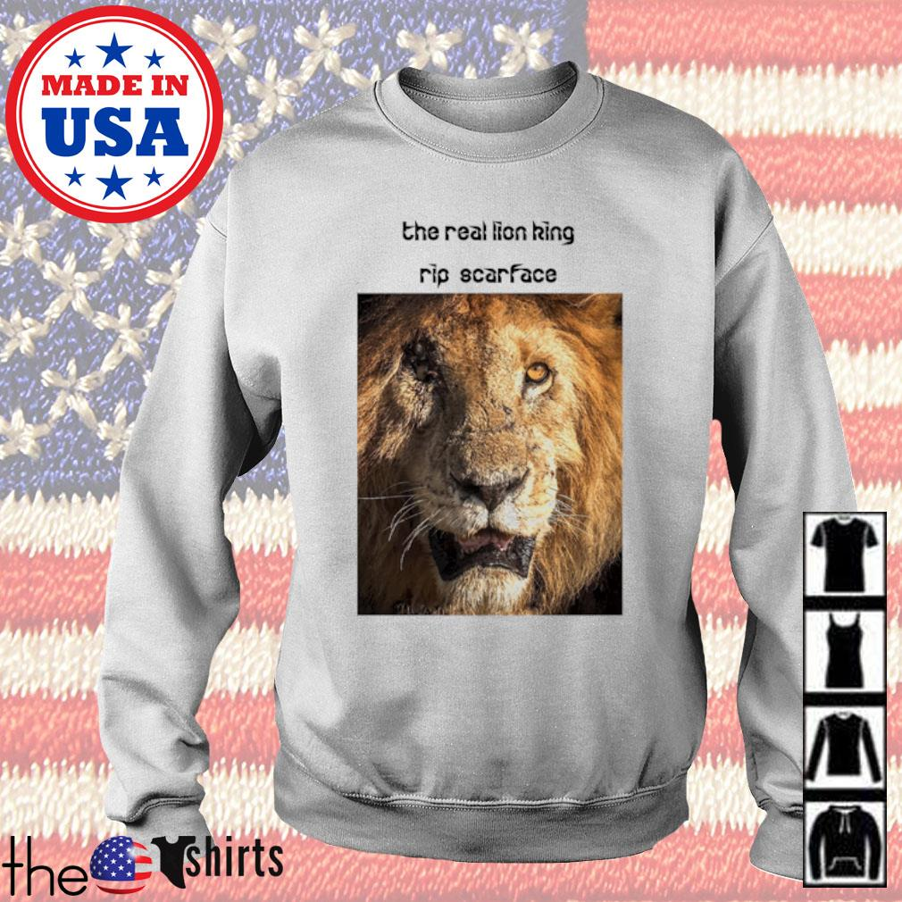 The real Lion King rip scarface Sweater
