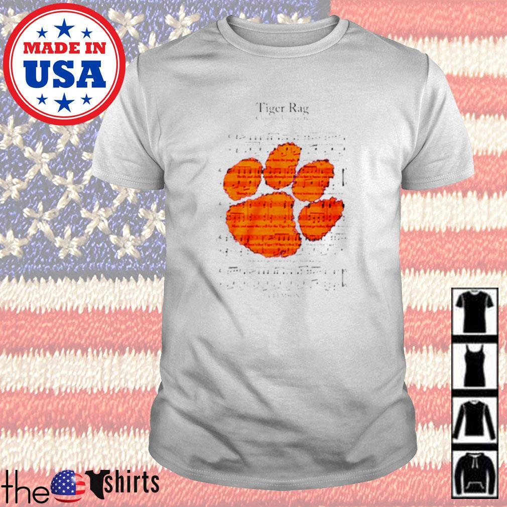 Tiger Rag Clemson university song shirt