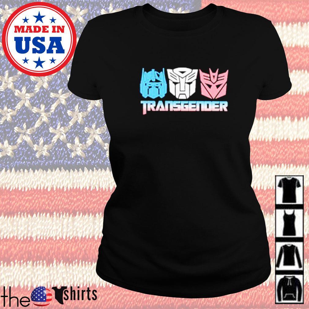 Transgender Transformers Ladies tee
