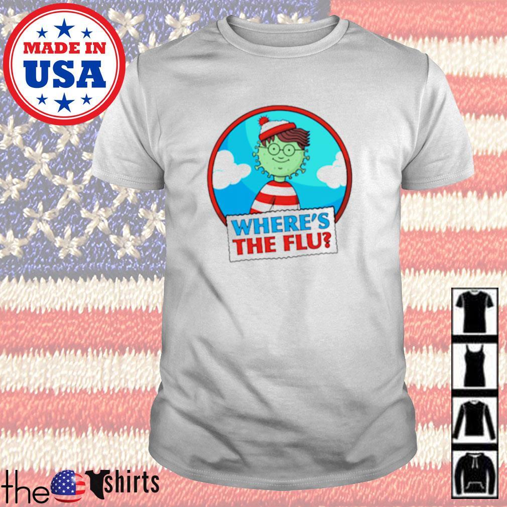 Where's Wally where's the flu shirt