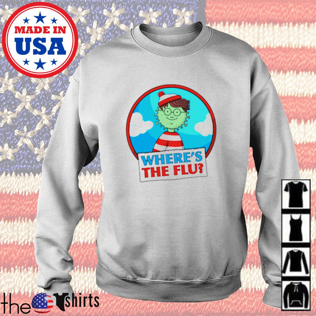 Where's Wally where's the flu Sweater