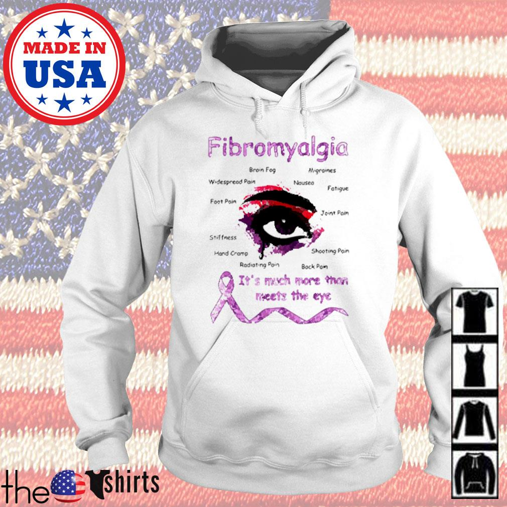 Fibromyalgia it's much more than meets the eye s Hoodie