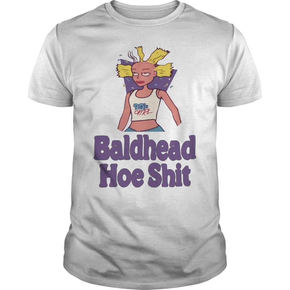 90's Girl bald headed hoe shit Guys shirt