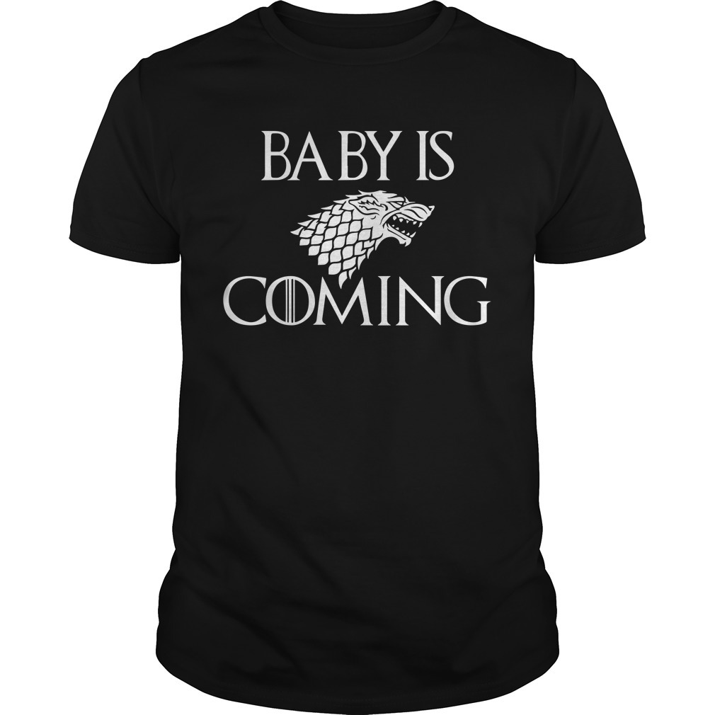 Baby is coming game of Thrones Guys shirt