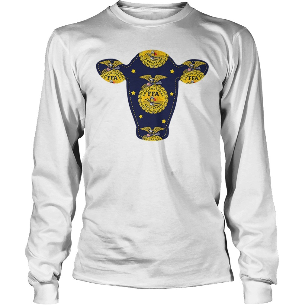 FFA agricultural education with a cow Longsleeve Tee