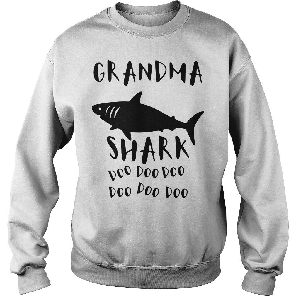 Grandma shark doo doo doo Sweater