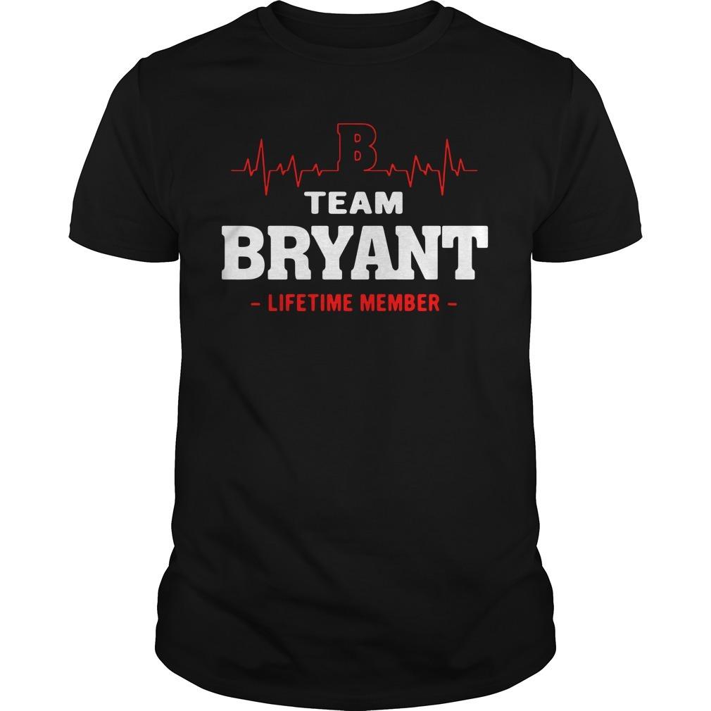 Heartbeat B team Bryant lifetime member Guys shirt