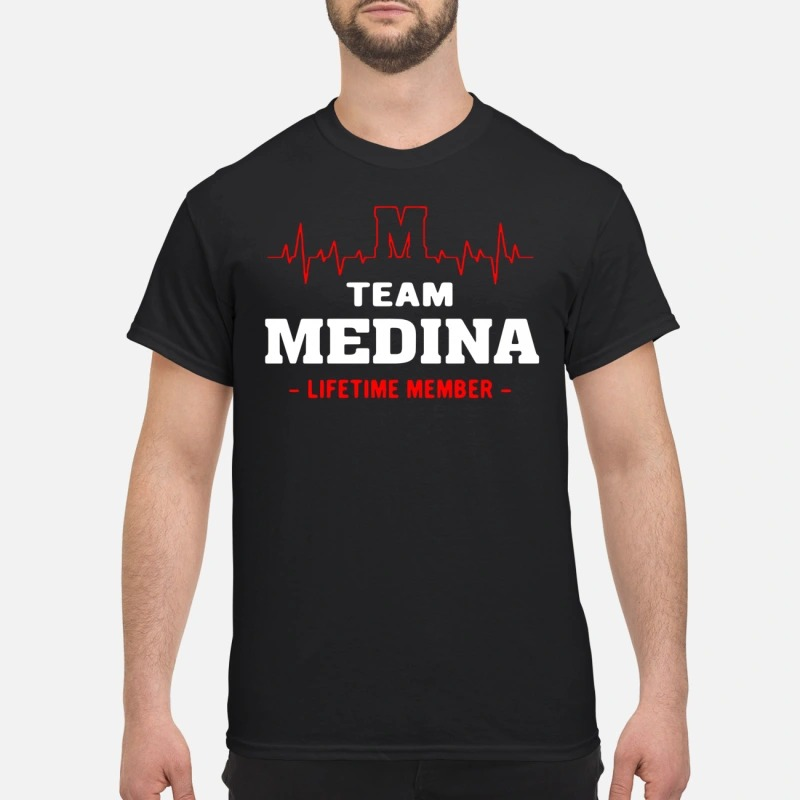 Heartbeat M team Medina lifetime member Guys shirt