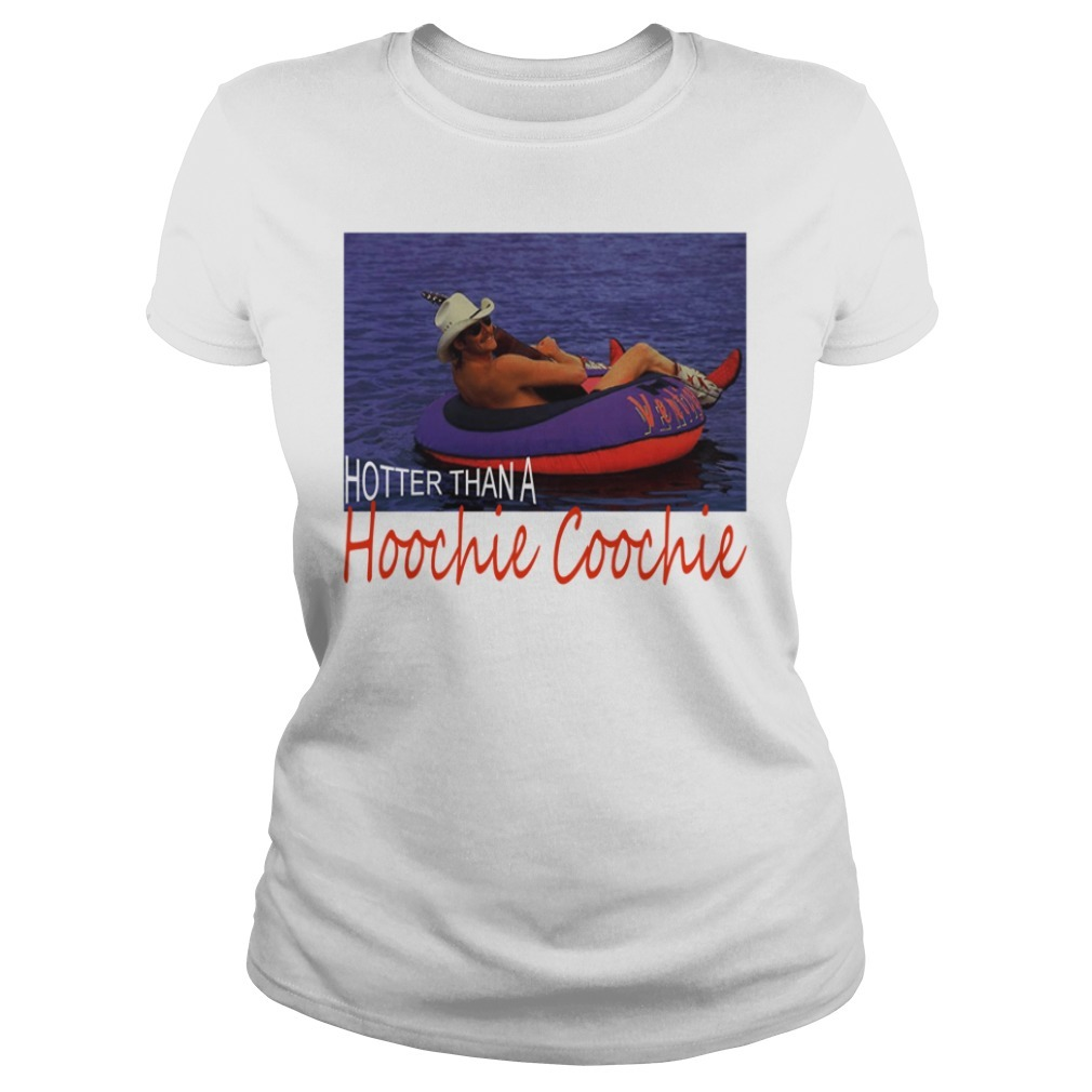 Official Alan Jackson hotter than a hoochie coochie Ladies Tee