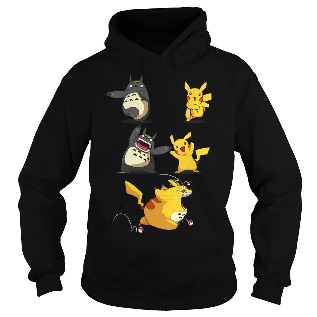 Pikachu fusion Totoro became Totochu or Pikaro Hoodie