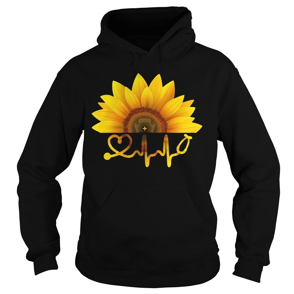 Sunflower nurse Hoodie