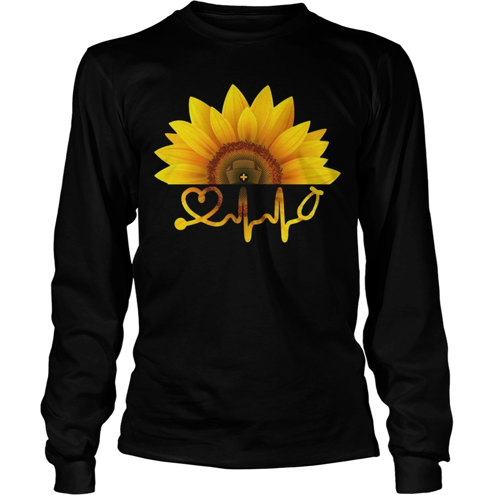 Sunflower nurse Longsleeve Tee