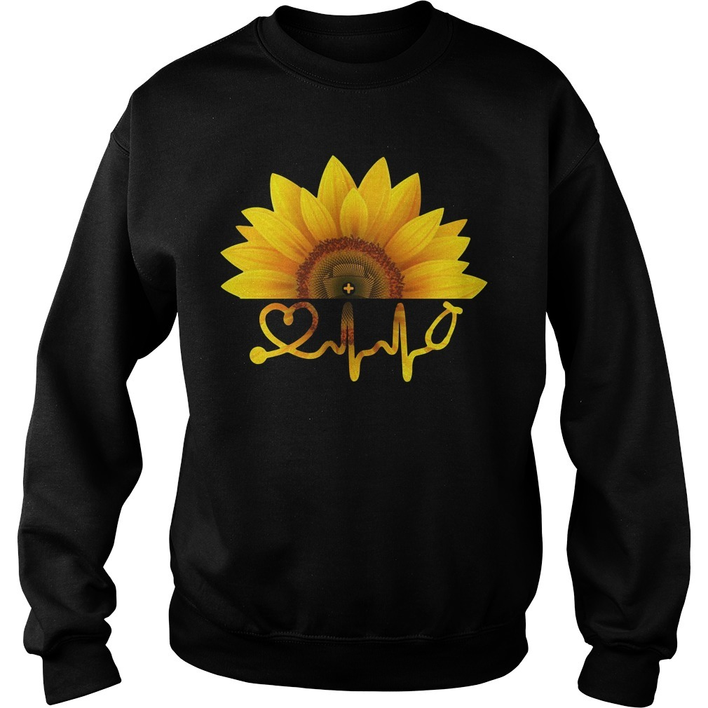 Sunflower nurse Sweater