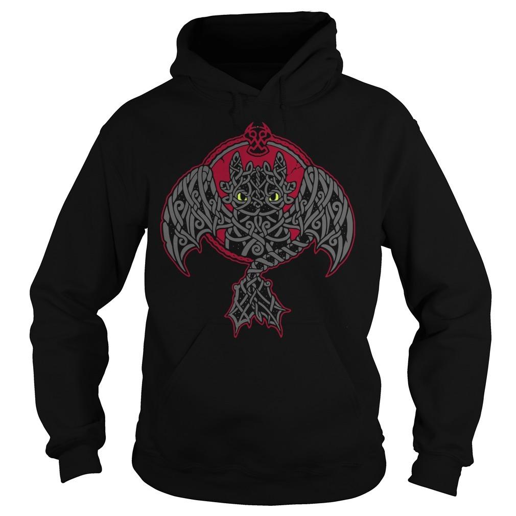 Viking toothless dragon Hoodie