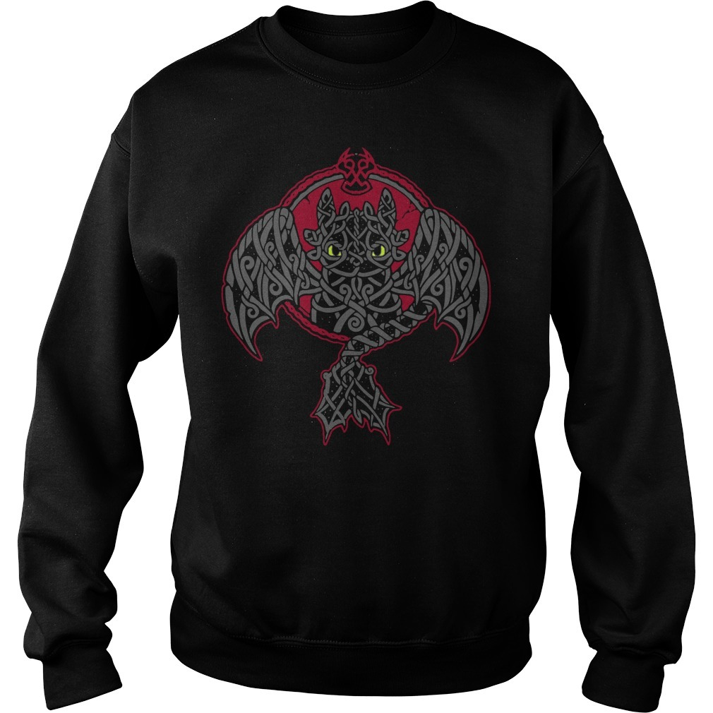 Viking toothless dragon Sweater