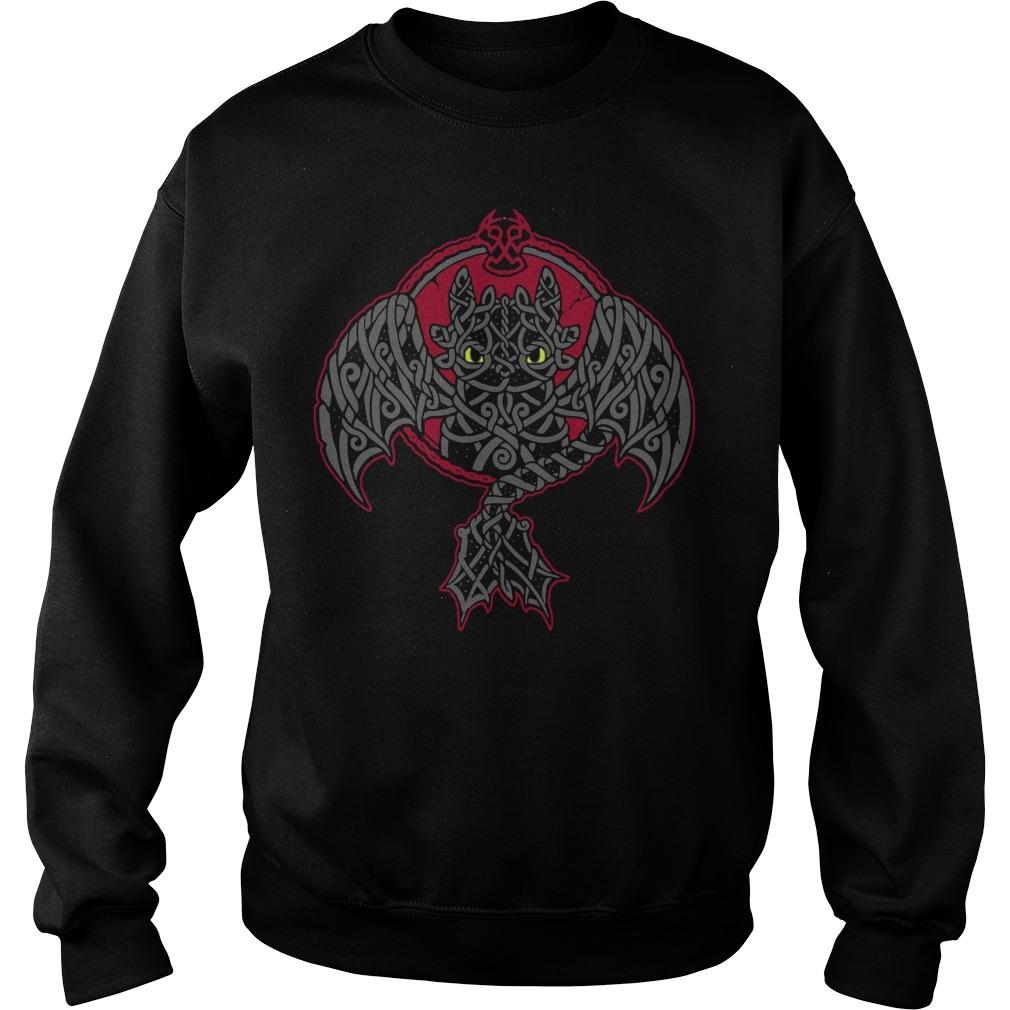 Viking toothless dragon Sweater