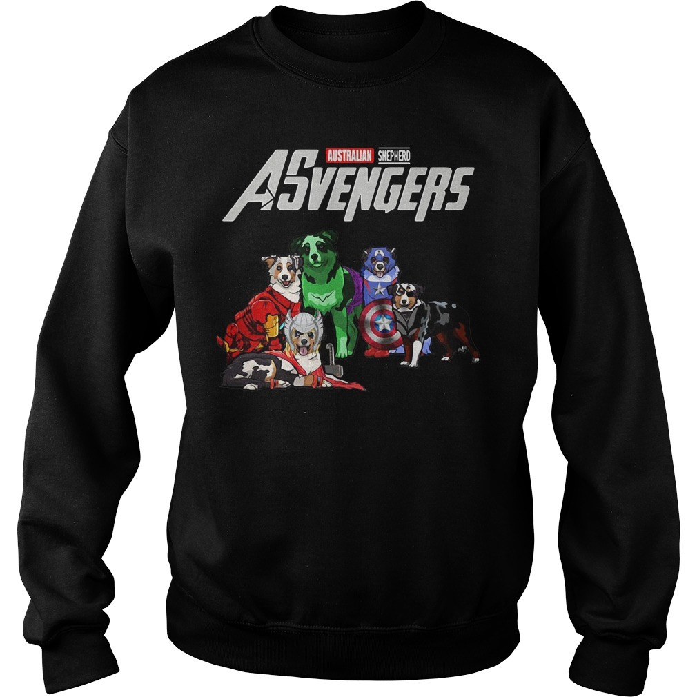 Asvengers Australian shepherd dog Sweater