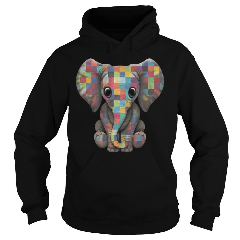 Autism elephant Hoodie