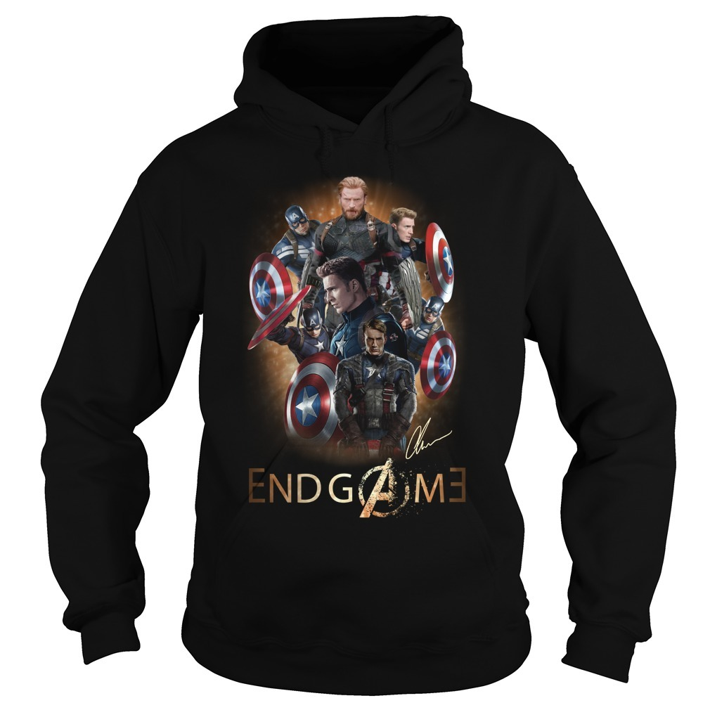 Avengers endgame Chris Evans signature Hoodie