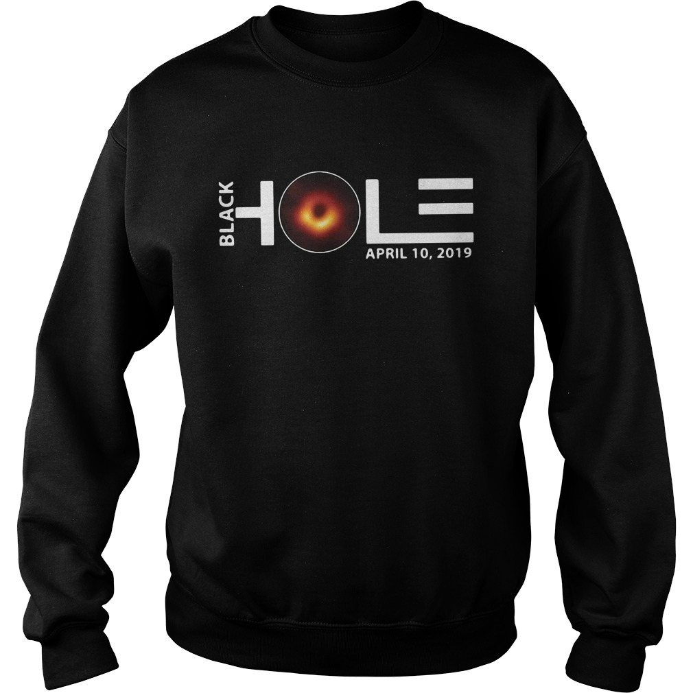 Black hole April 10 2019 Sweater