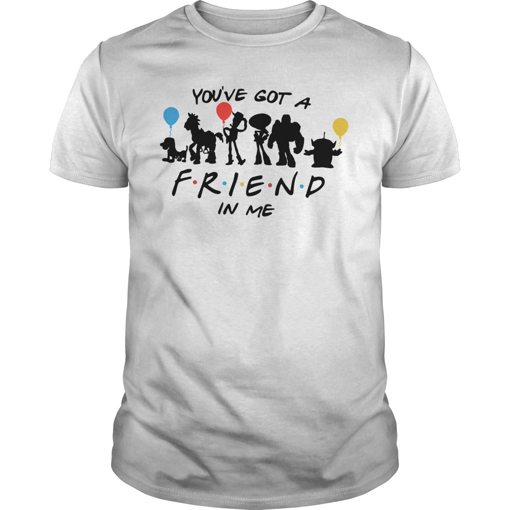 Disney Toy story and friends you've got a friend in me Guys shirt