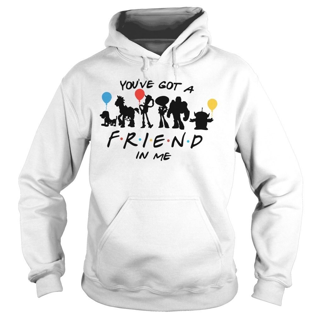 Disney Toy story and friends you've got a friend in me Hoodie