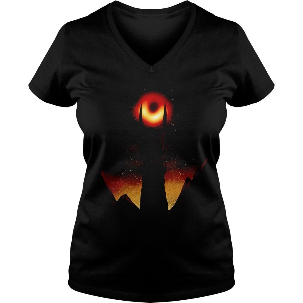 First photo of black hole Sauron 2019 V-neck T-shirt