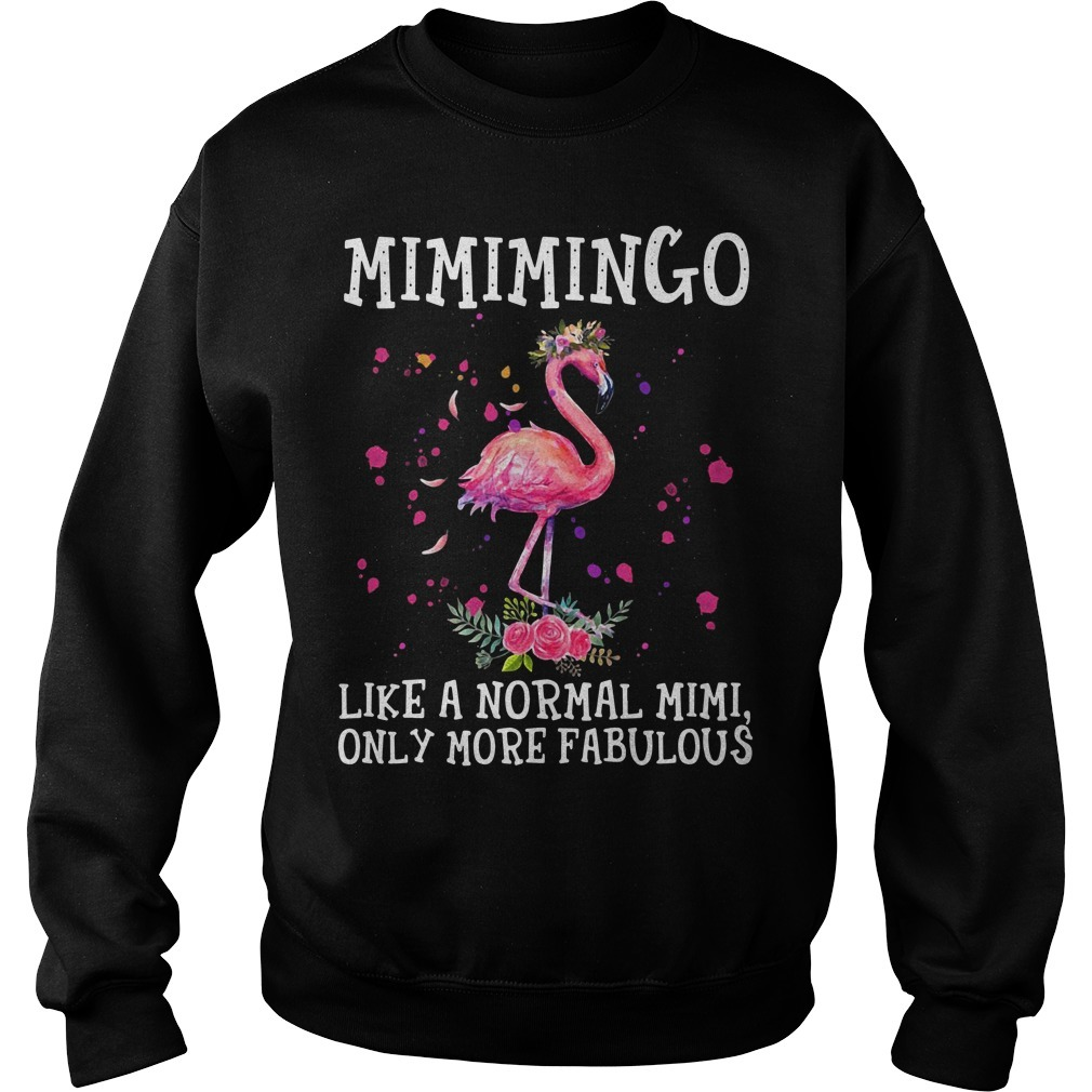 Flamingo Mimimingo like a normal Mimi only more fabulous Sweater