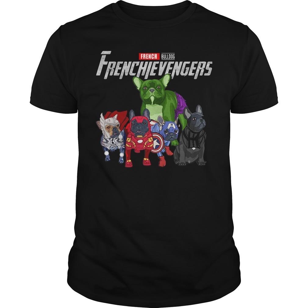 Frenchievengers French bulldog Guys shirt