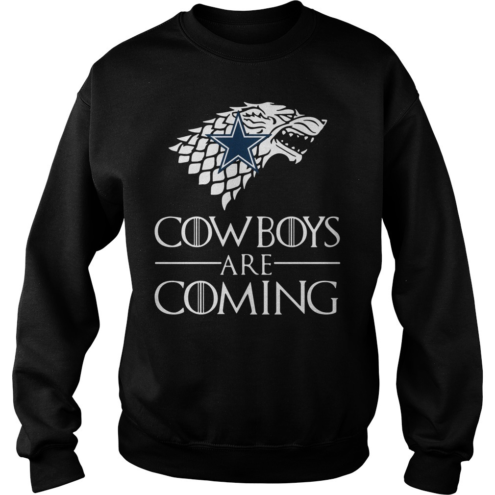 Game of Thrones cowboys are coming Sweater