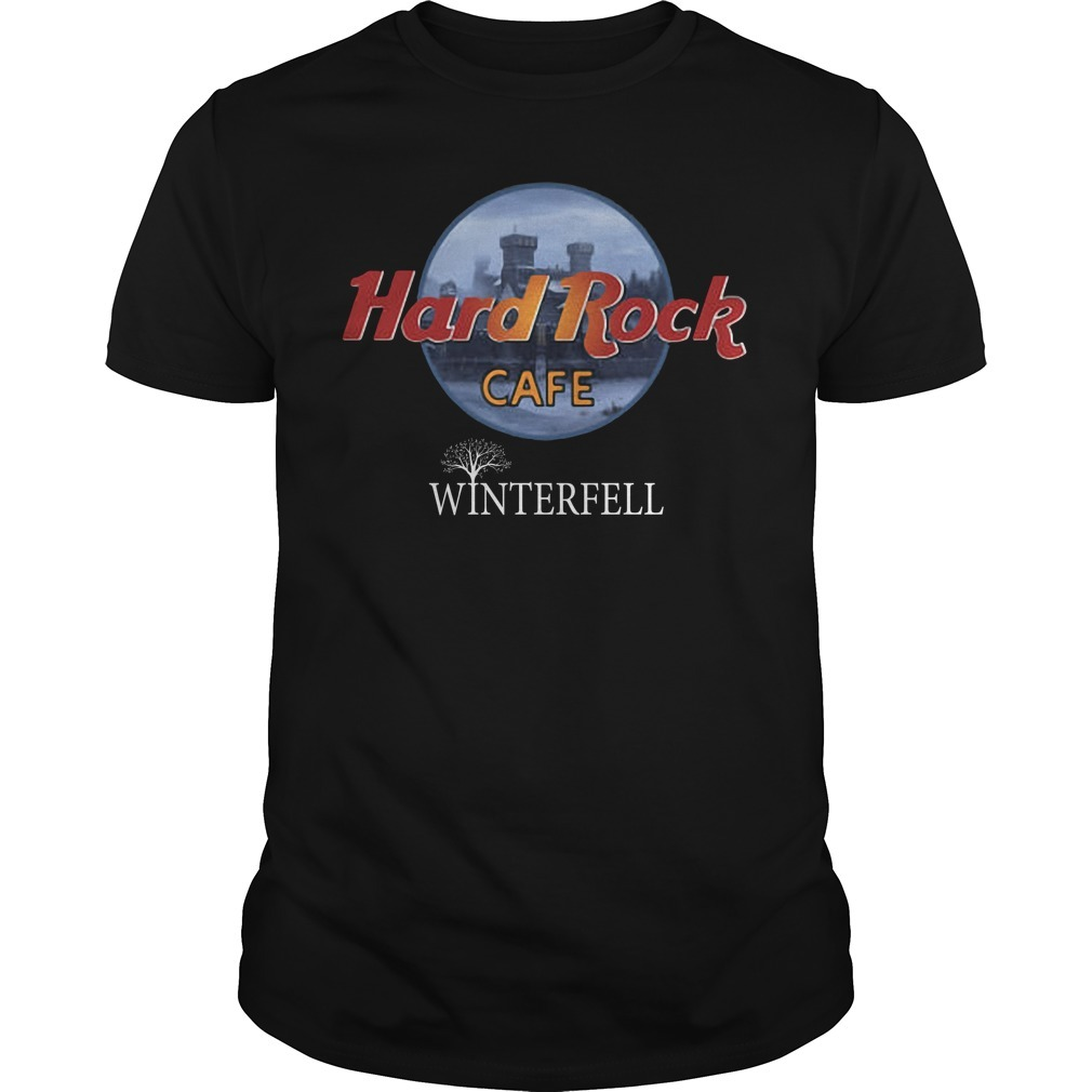 Hard rock cafe Winterfell Game of Thrones Guys shirt