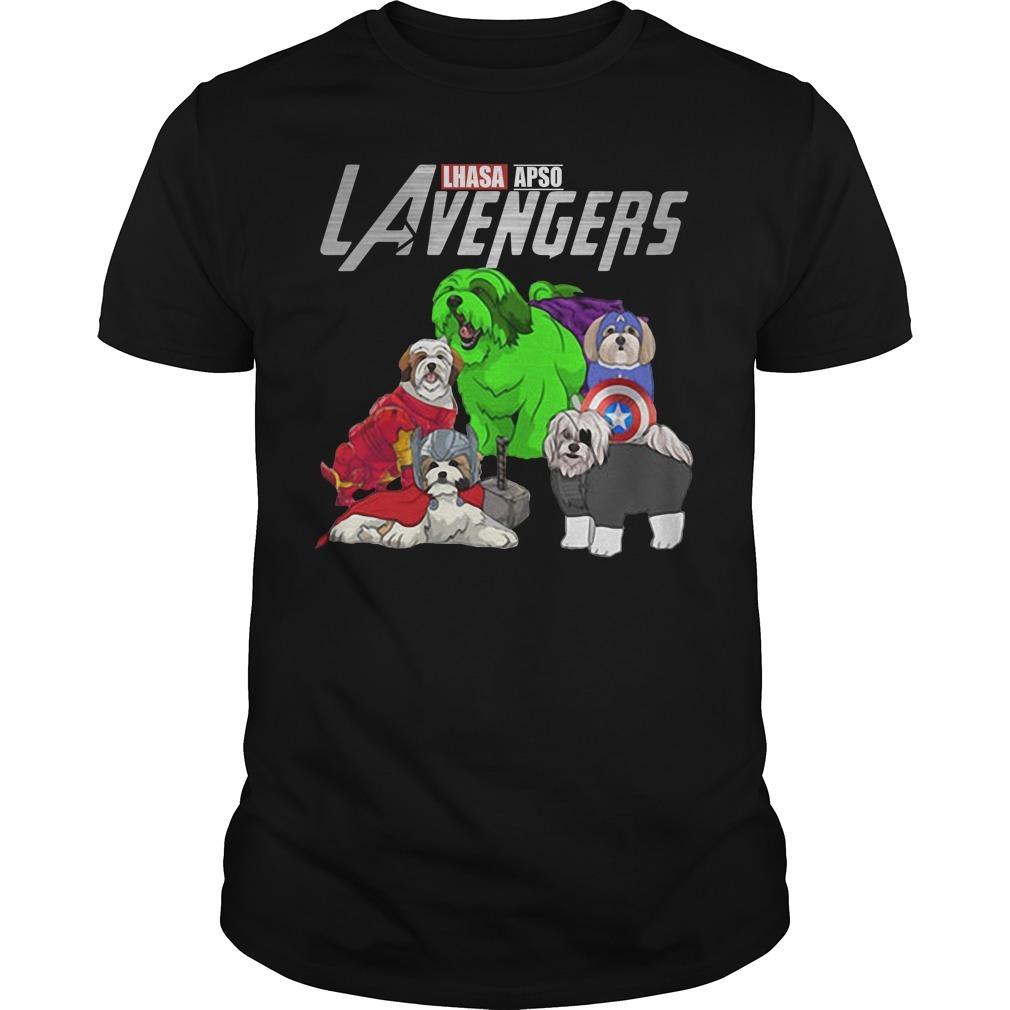 LAvengers Lhasa Apso Guys shirt