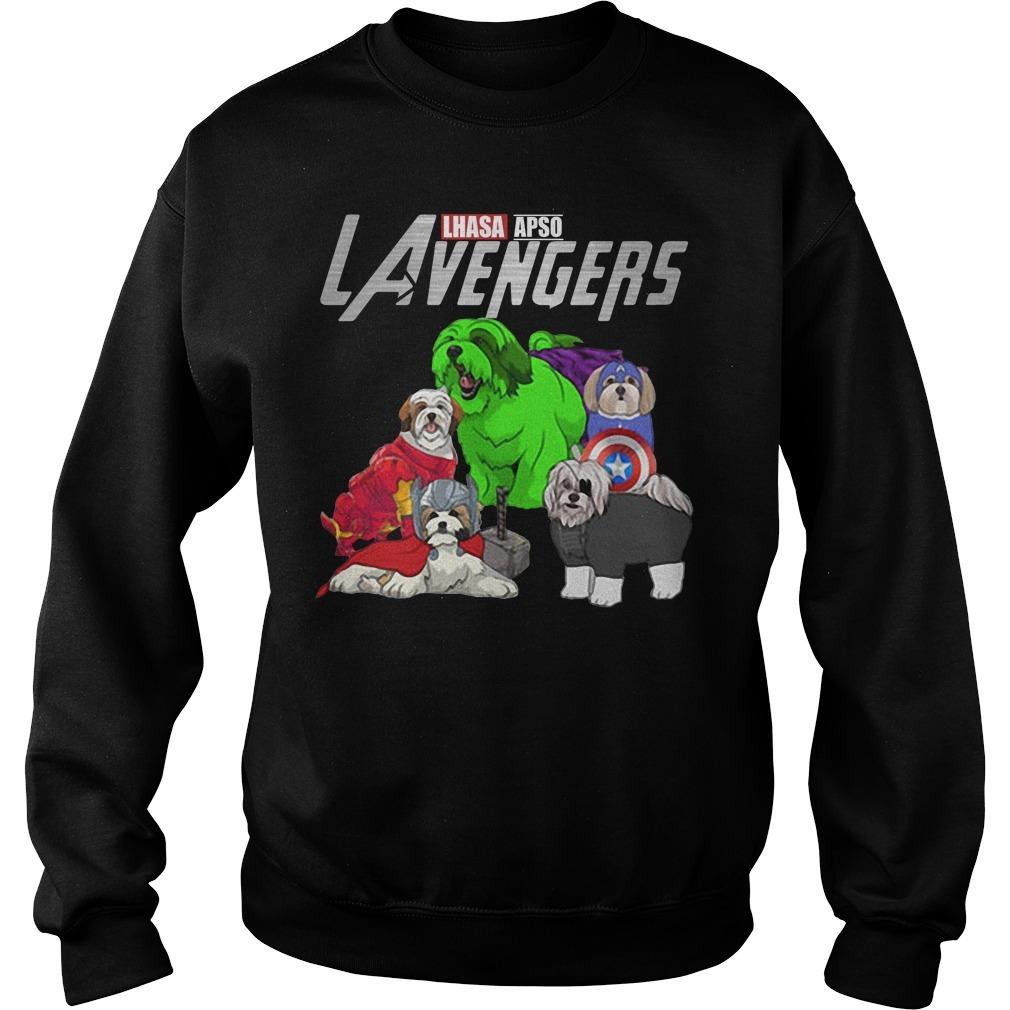 LAvengers Lhasa Apso Sweater