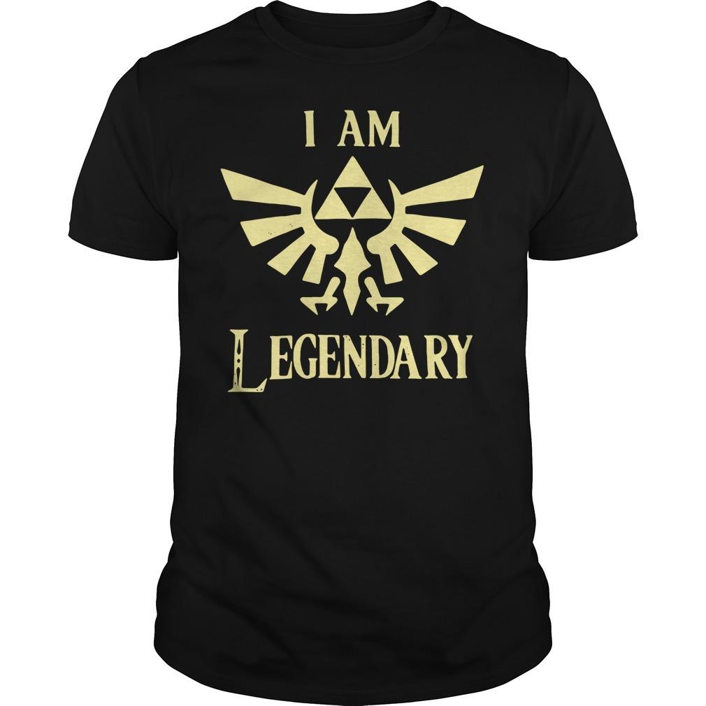 The Legend of Zelda I am Legendary shirt