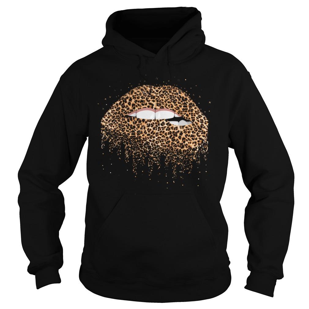 Leopard lips Hoodie