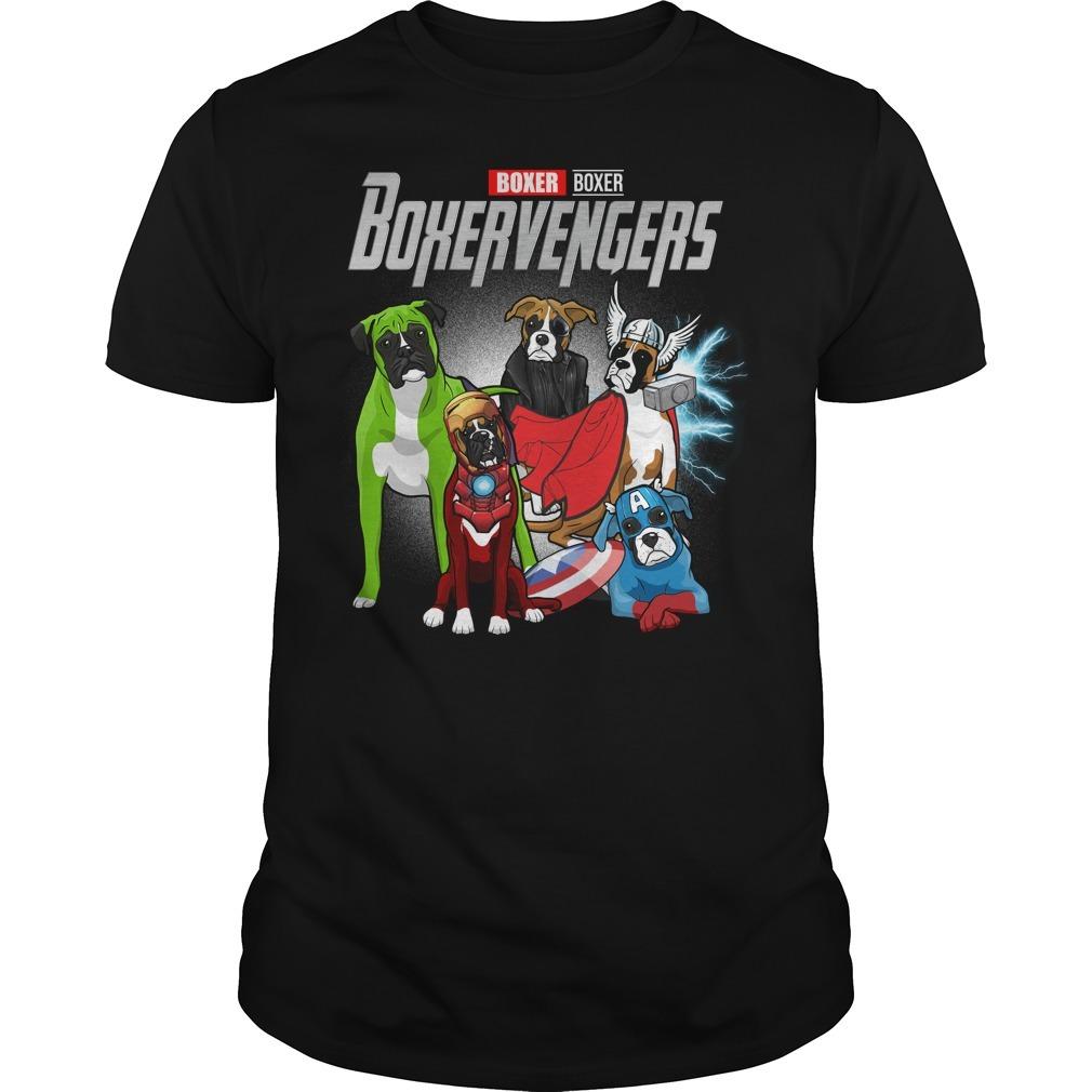 Marvel Avenger endgame Boxer Boxervengers Guys shirt