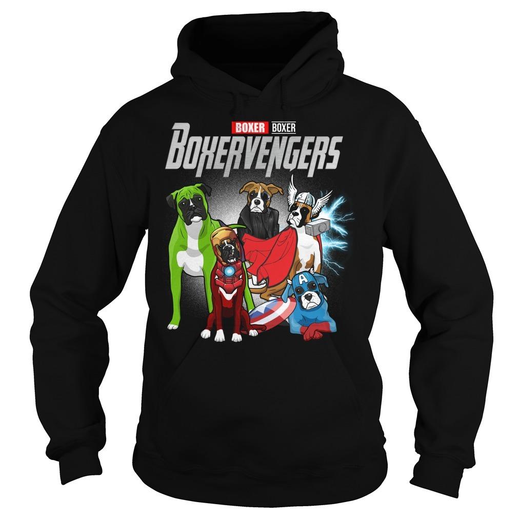 Marvel Avenger endgame Boxer Boxervengers Hoodie