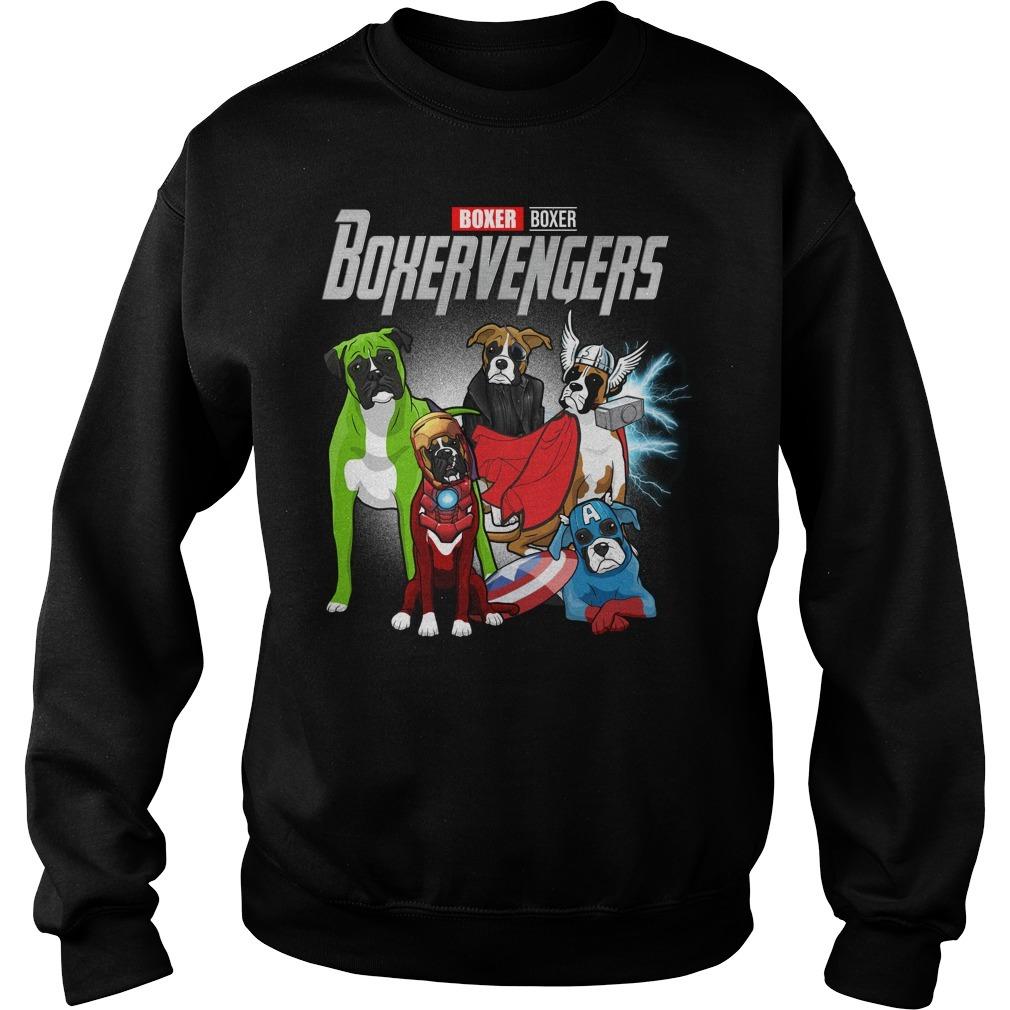 Marvel Avenger endgame Boxer Boxervengers Sweater