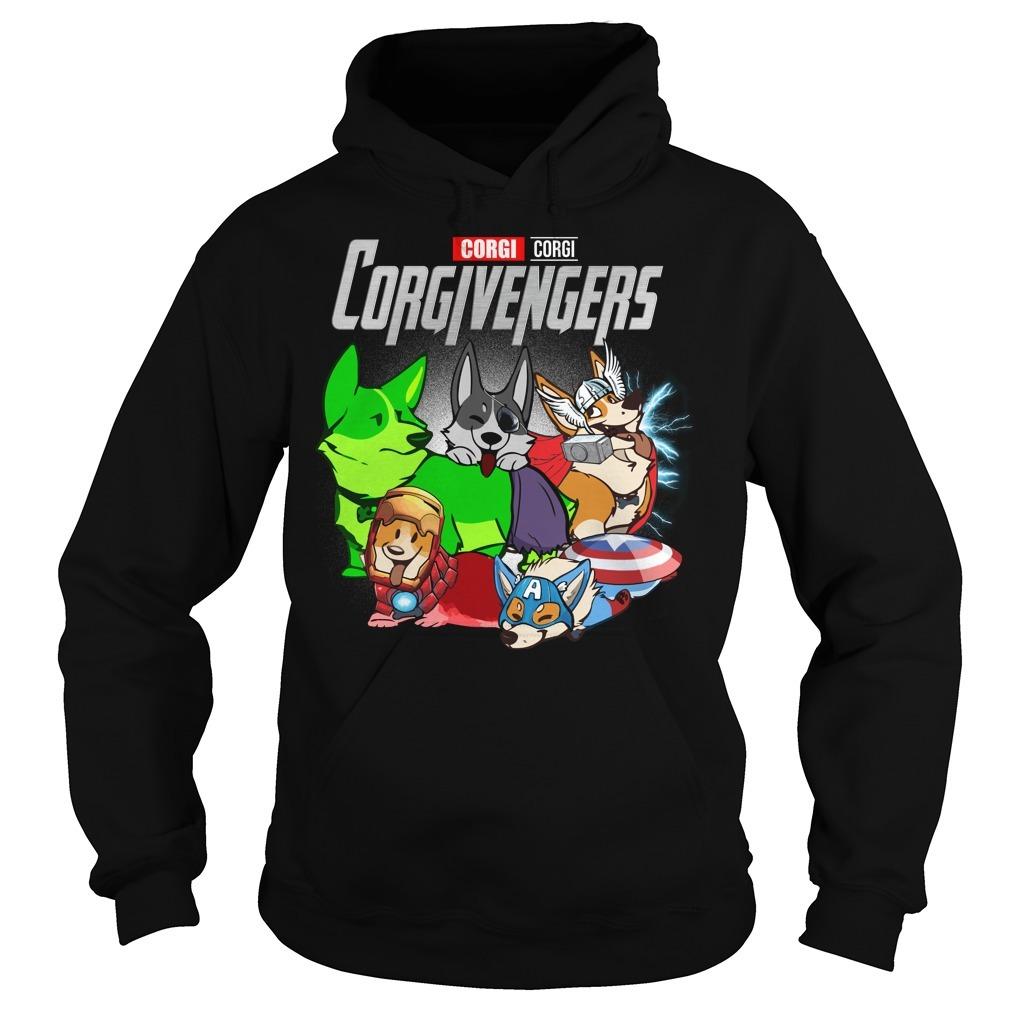 Marvel Avenger endgame Corgi Corgivengers Hoodie